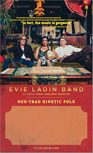 Gig Poster - Evie Ladin Band