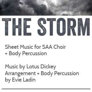 Sheet Music: The Storm